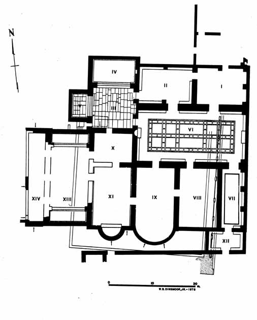 Bathplan on Roman Bath House Floor Plan
